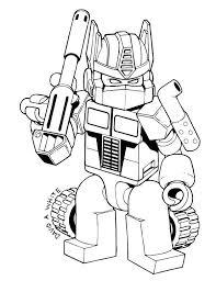 раскраски для мальчиков с роботами раскраски для детей скачать