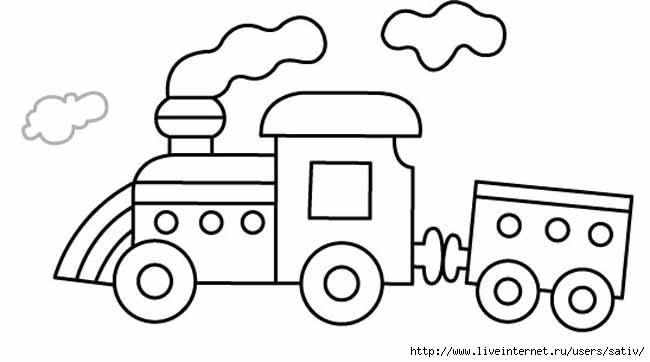 раскраски на тему рисуем транспорт
