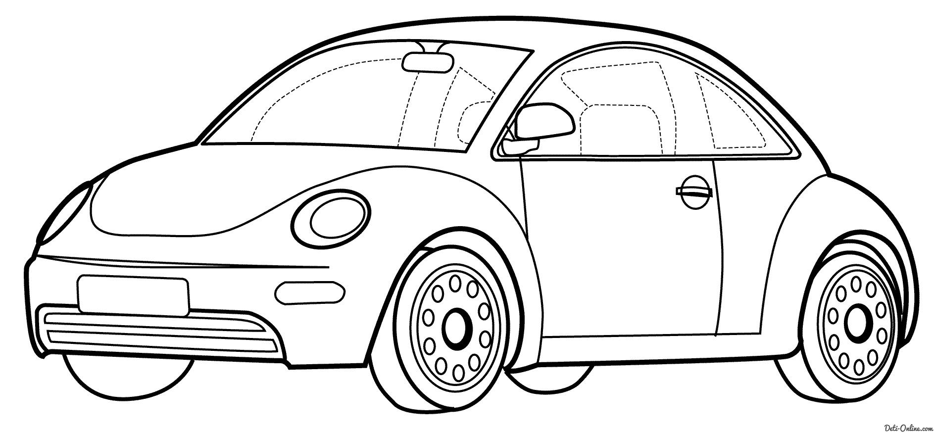 раскраски с изображением разного вида транспорта для детей