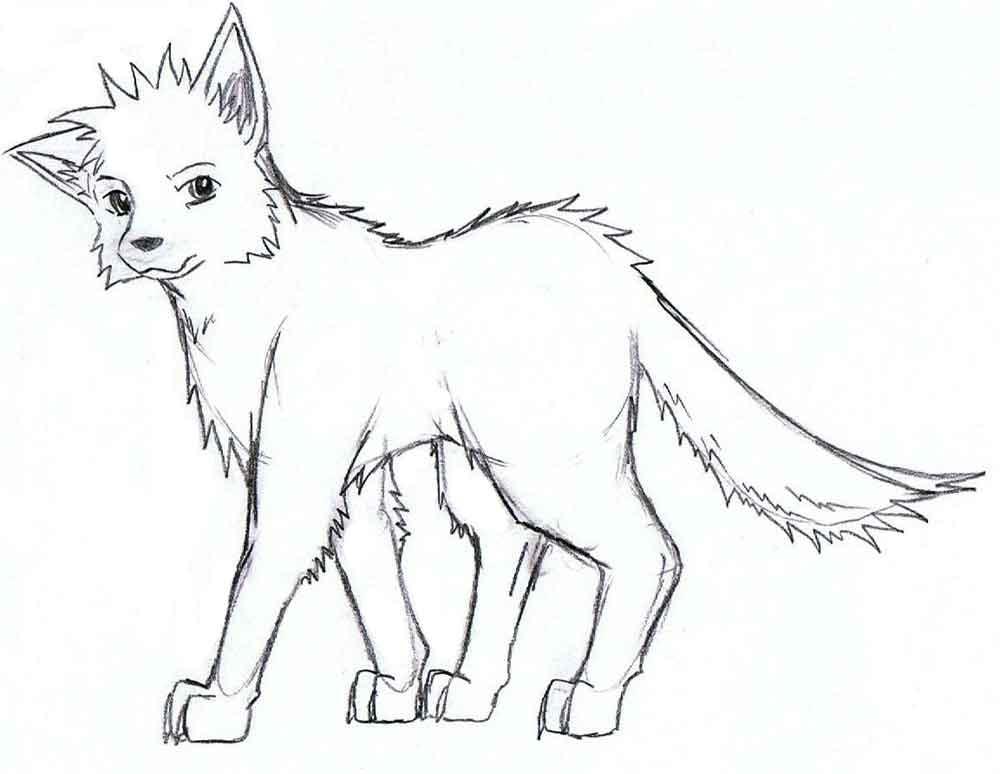 раскраски аниме животные