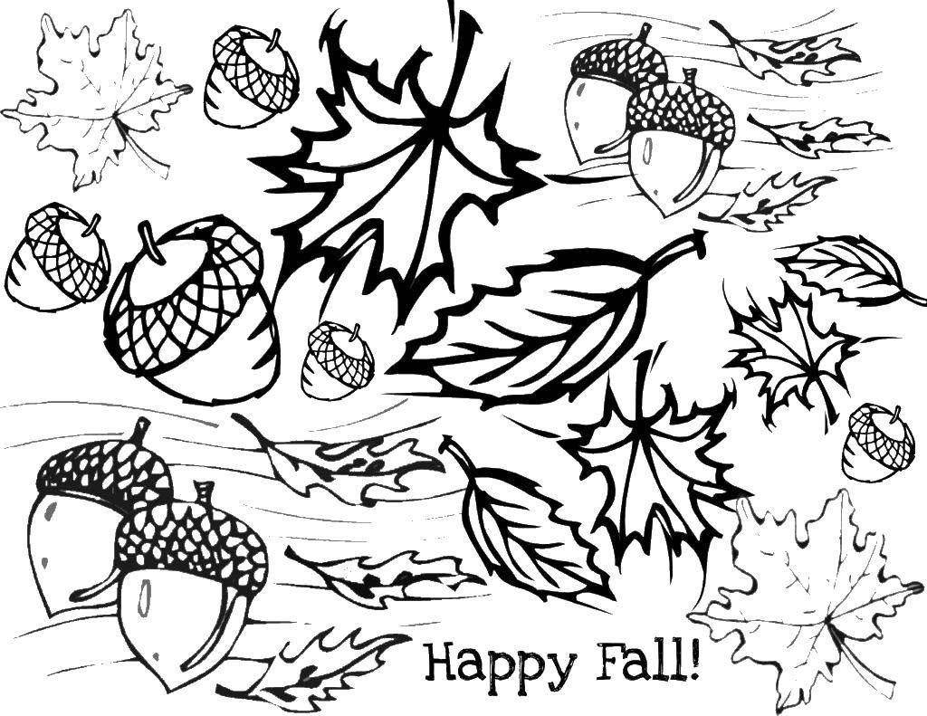 раскраски осень для малышей раскраски для детей раскраски ...