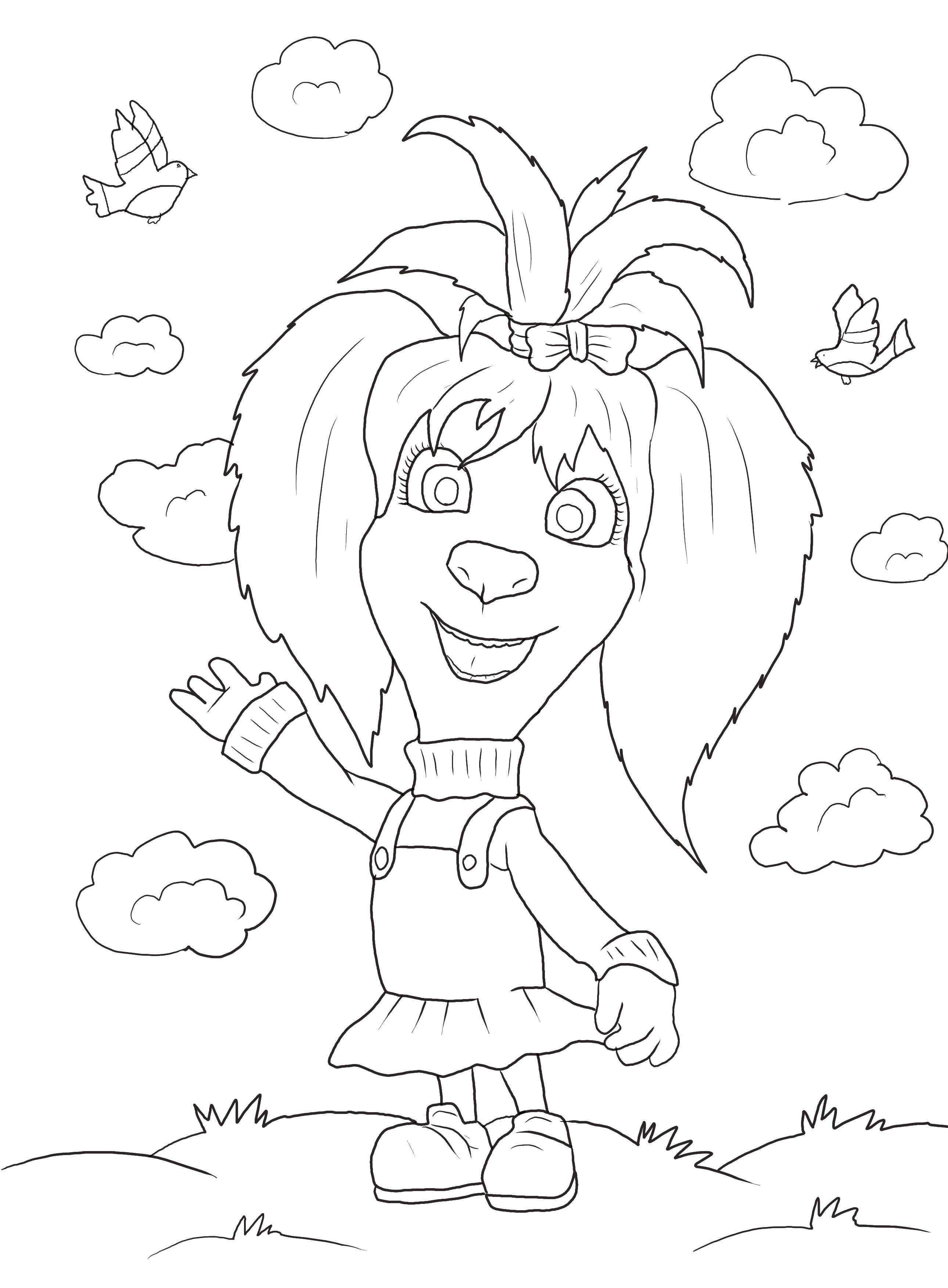 раскраски про семейку барбоскиных для малышей
