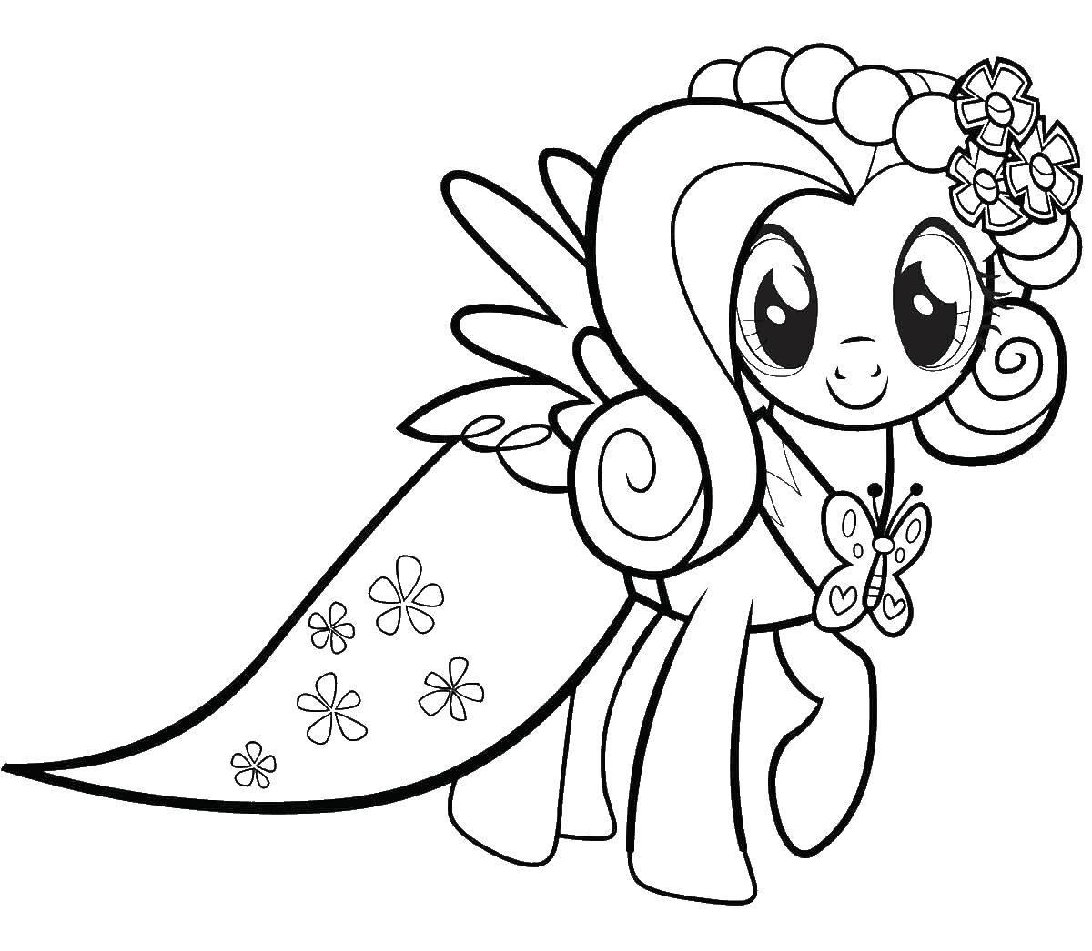 раскраски с пони из мультика дружба это чудо май литл пони ...