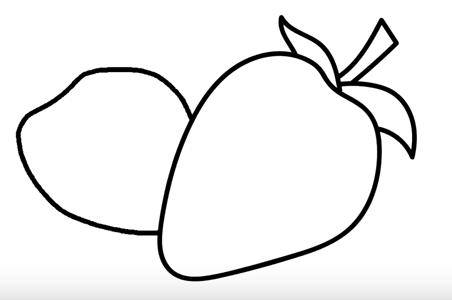 Раскраски контуры ягоды для вырезания из бумаги для занятий в начальной школе  Раскраски контуры ягоды для вырезания из бумаги для занятий в начальной школе