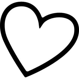 Раскраска Сердечки | Раскраски для детей печать онлайн | 338x338