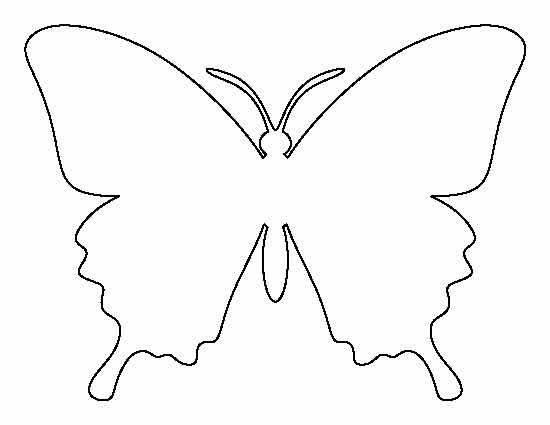 Раскраски контуры насекомых для вырезания из бумаги для малышей