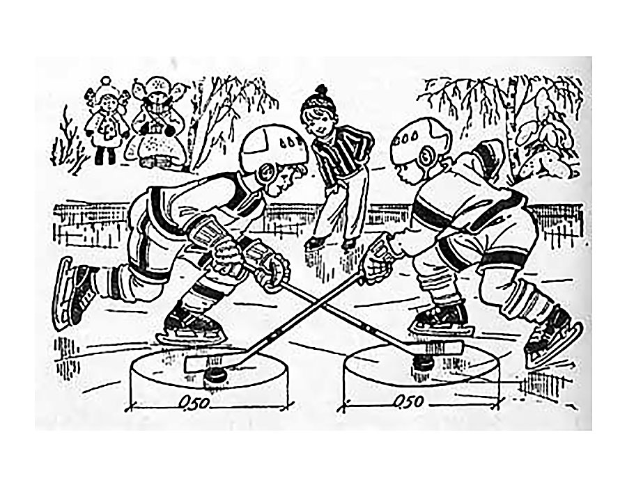 раскраски для детей и взрослых на тему хоккей