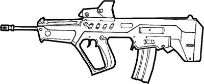 раскраски оружие