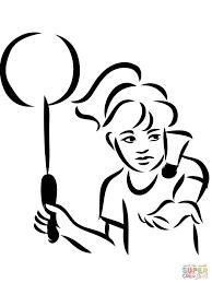 раскраски на тему бадминтон для детей   раскраски на тему бадминтон для мальчиков и девочек. Интересные раскраски бадминтон. Раскраски с воланчиками, ракетками для детей
