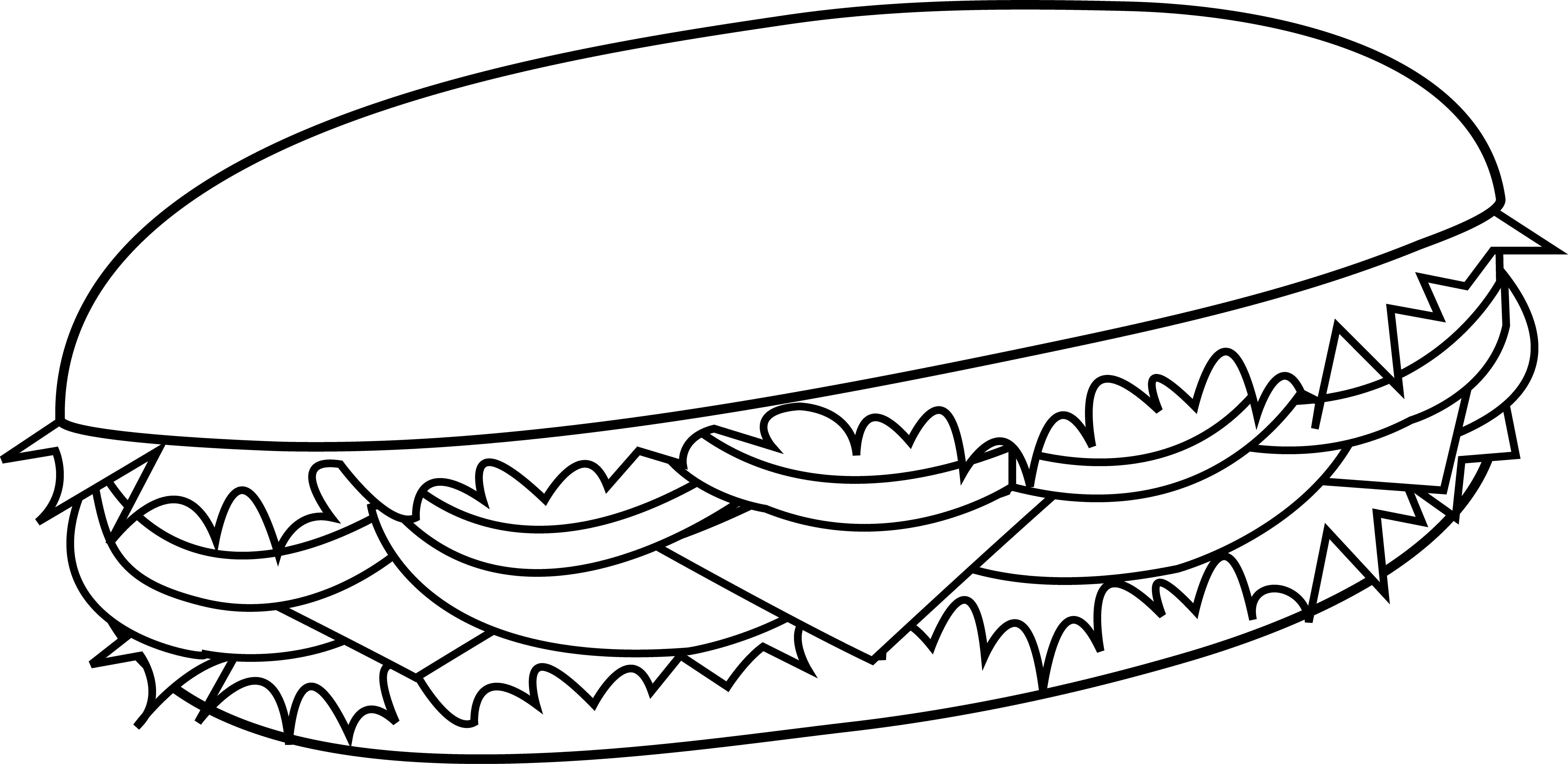 Сэндвичи. Еда. Раскраски на тему еда. Раскраски для детей и малышей на тему еда, с изображениями аппетитных сэндвичей. Раскраски с едой.