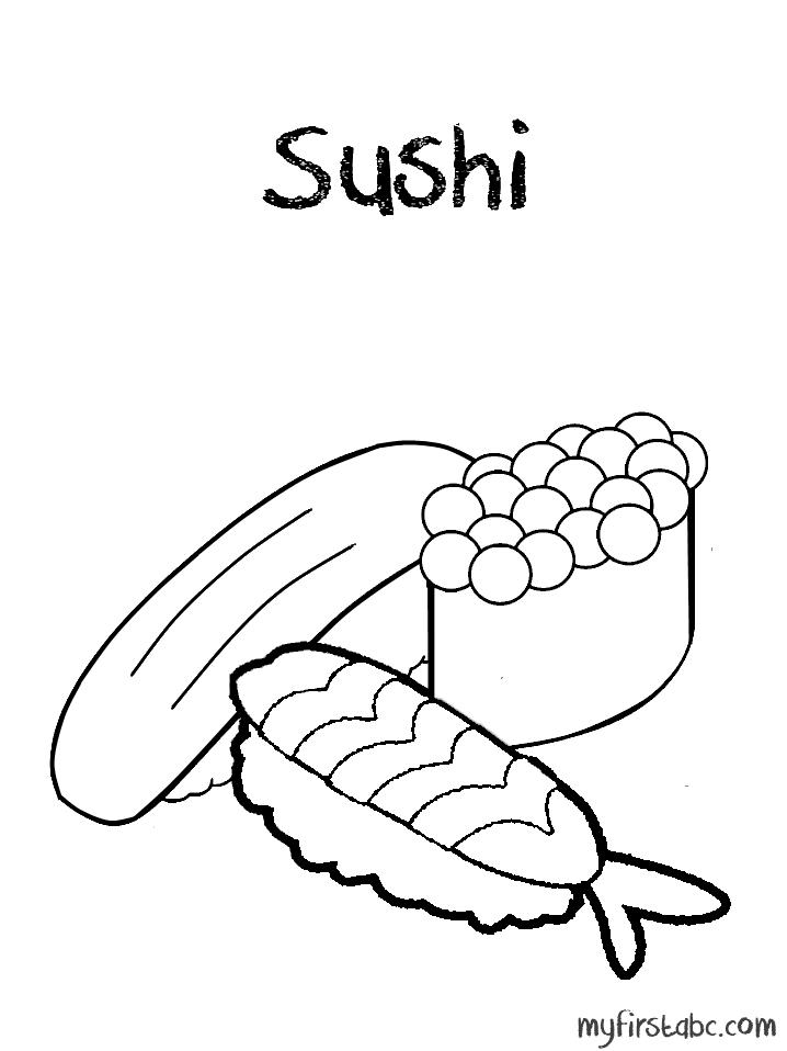 Суши. Раскраски на тему еда, раскраски с суши. Суши. Раскраски на тему еда, раскраски с суши.