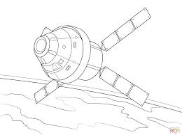 раскраски космические корабли