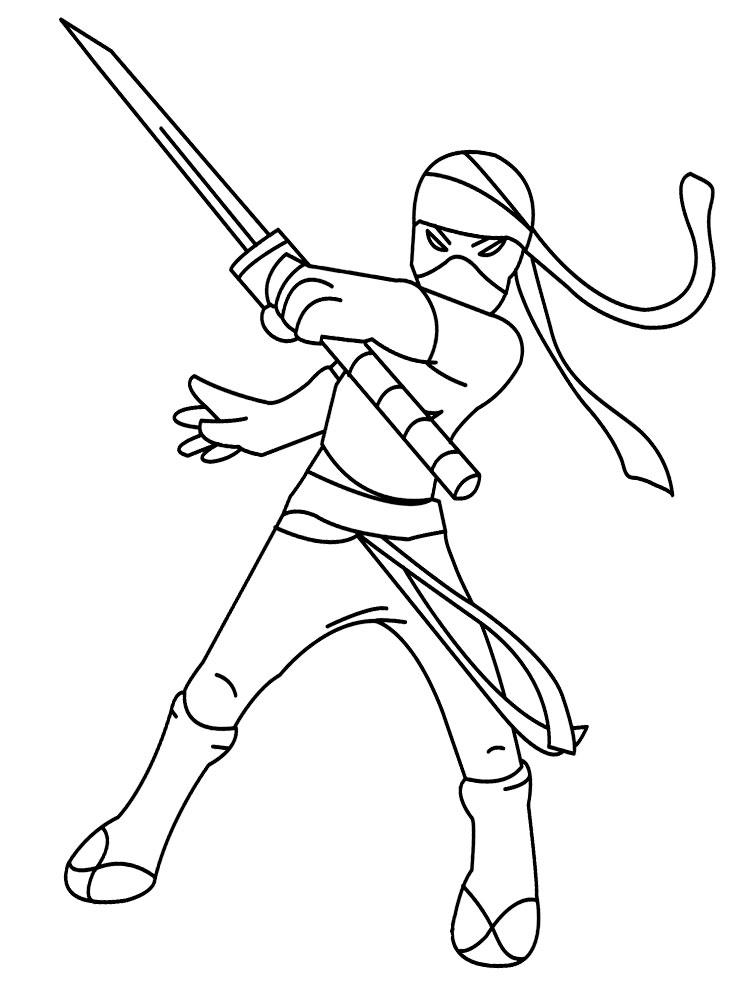 раскраски с ниндзя для детей             раскраски на тему ниндзя для детей. Раскраски с восточными бойцами для мальчиков и девочек. Восточные единоборства, ниндзя. Раскраски для мальчиков