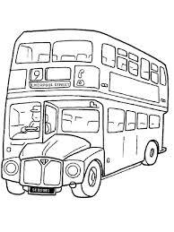 раскраски на тему автобусы для детей.  раскраски с автобусами для мальчиков и девочек. Двухэтажные автобусы