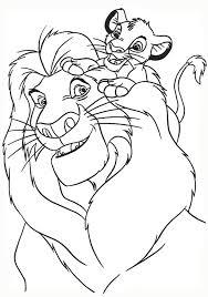 раскраски на тему король лев для мальчиков и девочек. Интересные раскраски с персонажами диснеевского мультфильма король лев для детей