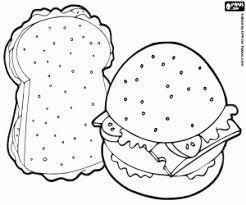 Раскраски ,на которых изображены сэндвичи . Раскраски сэндвич Раскраски для взрослых и детей с изображением  сэндвичей . Раскраски,на которых изображены сэндвичи . Раскраски на тему еда - сэндвич .
