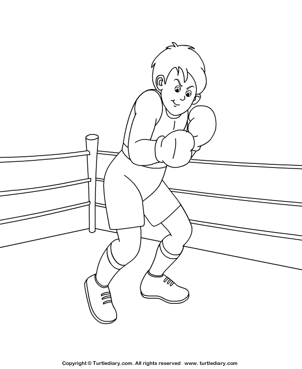 раскраски для мальчиков про бокс раскраски про спорт бокс