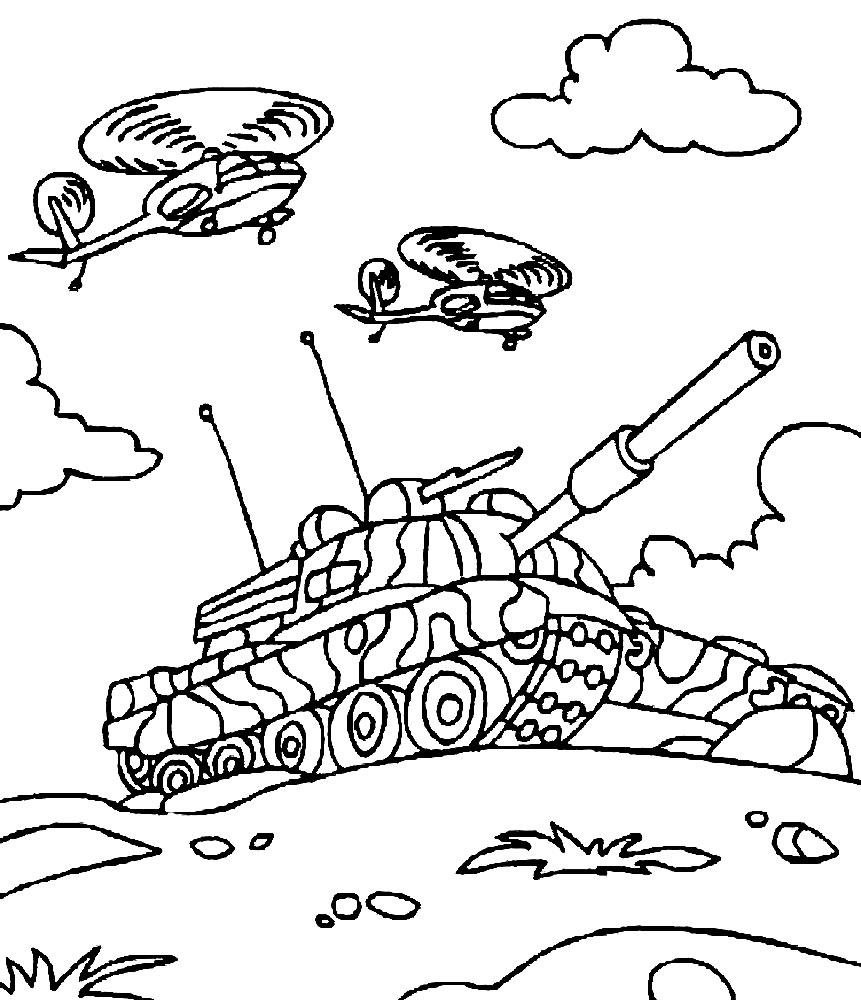 раскраски на тему война для детей