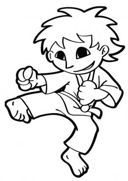 Раскраски для детей с каратэ. Спортивные раскраски для детей. Раскраски детские с каратэ. Детские раскраски со спортом онлайн. Скачать бесплатно раскраски для детей. Раскраски для детей с каратэ. Спортивные раскраски для детей.