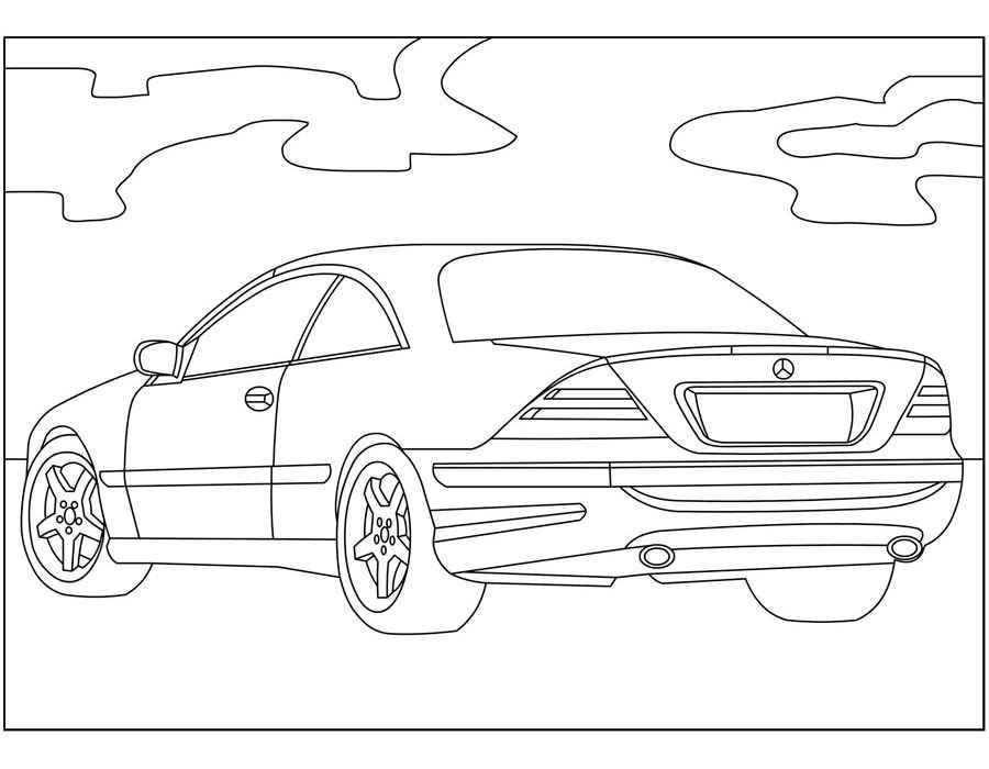 раскраски с машинами Mercedes Benz       раскраски на тему машины Mercedes Benz   для детей. Интересные раскраски с машинами Mercedes Benz   для мальчиков и девочек. Mercedes Benz