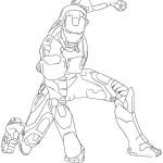 Раскраски с изображением Железного человека  для мальчиков . Раскраски ,на которых изображен железный человек . Разукрашки с железным человеком для мальчиков . Раскраски с героем фильма железный человек .
