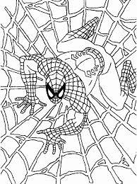раскраски для мальчиков с человеком пауком раскраски для ...