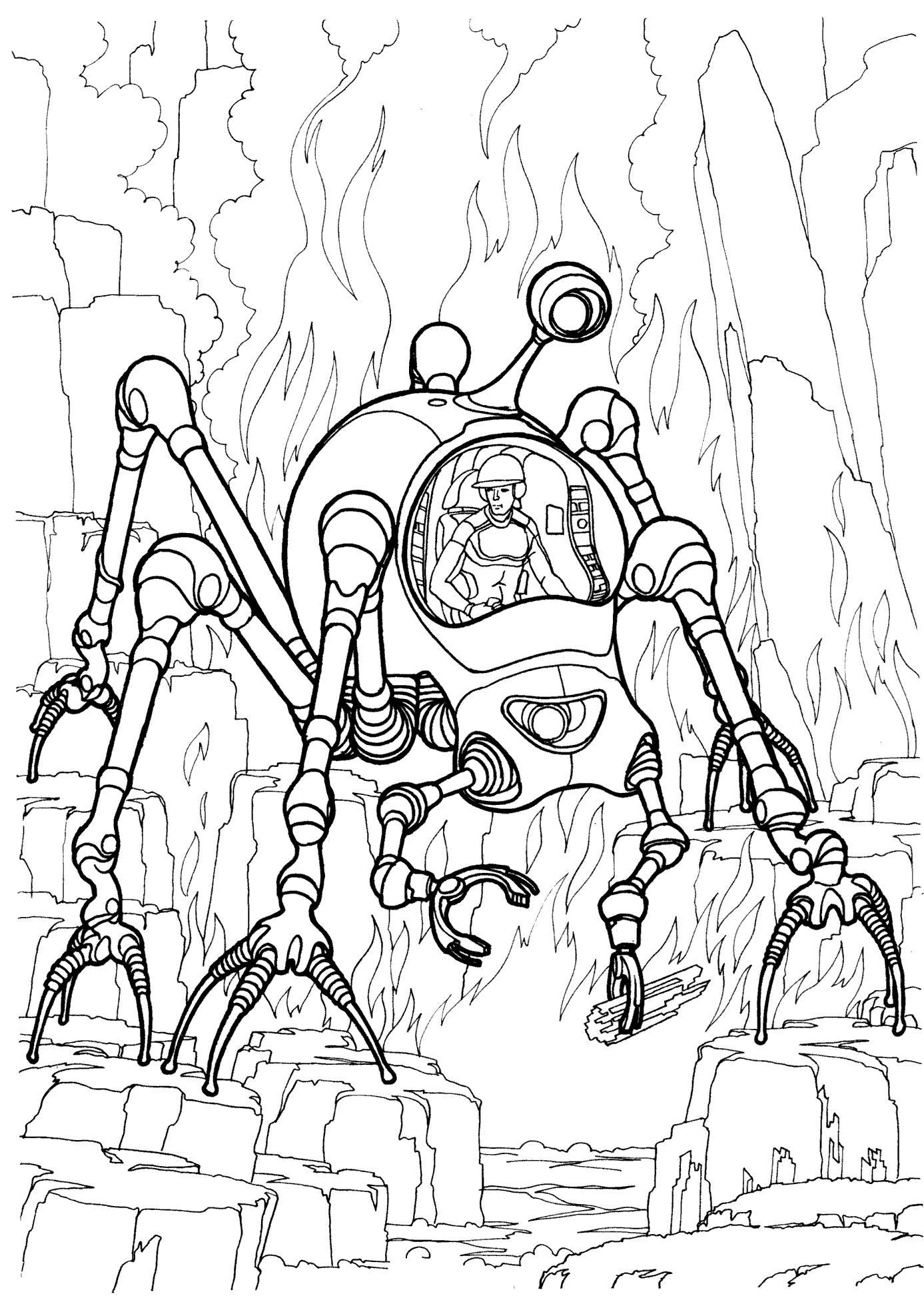 раскраски на тему космические корабли для детей.  Интересные раскраски с космическими кораблями для мальчиков и девочек.