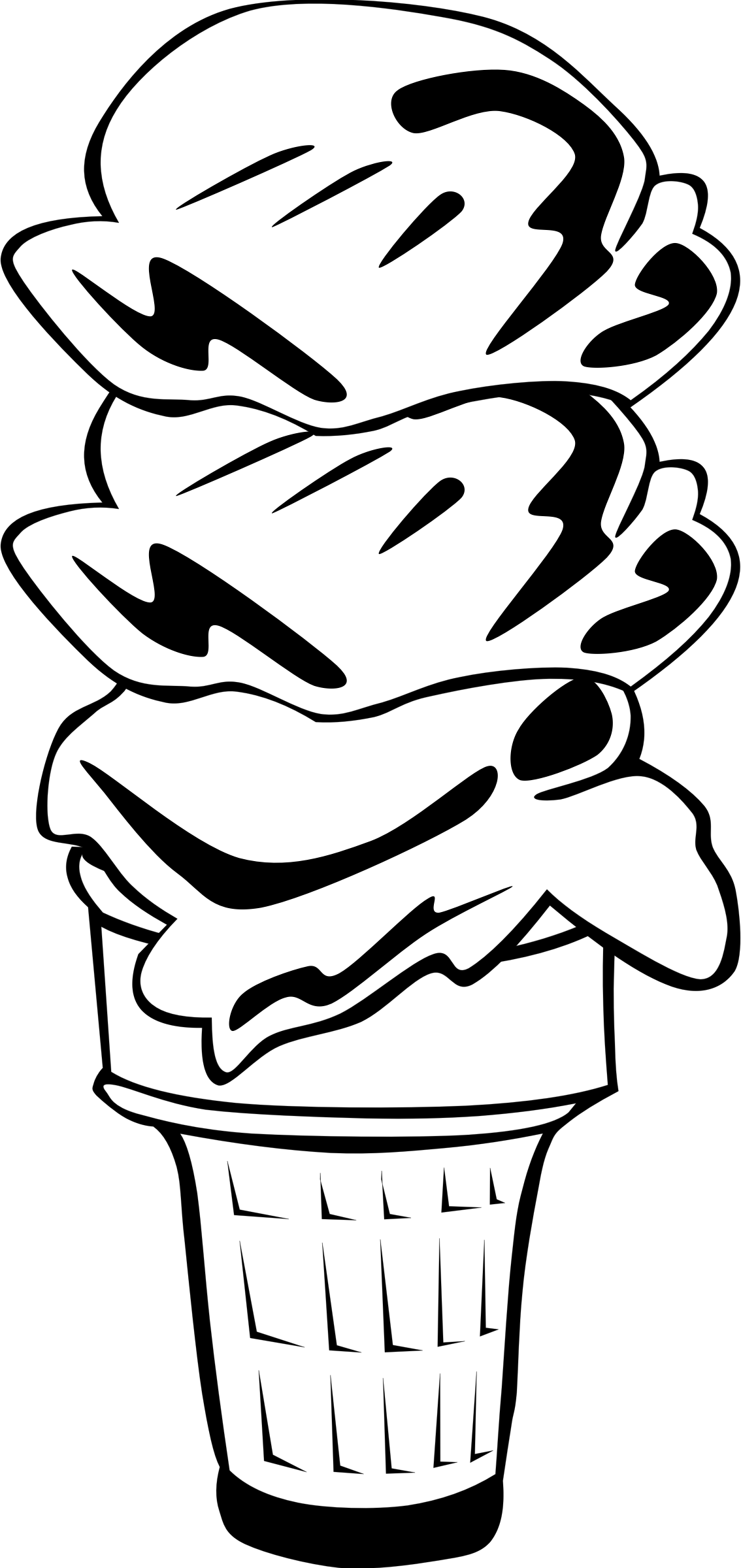 Мороженое. Еда. Сладости. Раскраски для детей на тему еда. Раскраски на тему мороженое.
