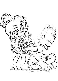 раскраски на тему Элвин и Бурундуки      раскраски на тему элвин и бурундуки для мальчиков и девочек. Интересные раскраски с персонажами мультфильма Элвин  и  Бурундуки для детей