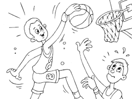 Спортивные раскраски для детей. Раскраски для детей с баскетболом. Скачать бесплатные раскраски для детей. Раскраски детские онлайн бесплатно. Раскраски для детей с баскетболом. Спортивные раскраски для детей. Бесплатные детские раскраски.