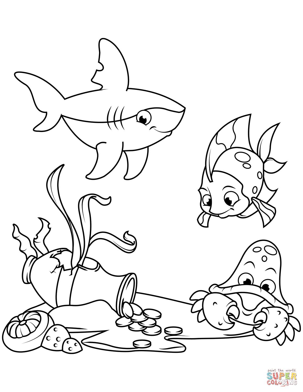 раскраски подводный мир раскраски для взрослых бесплатно