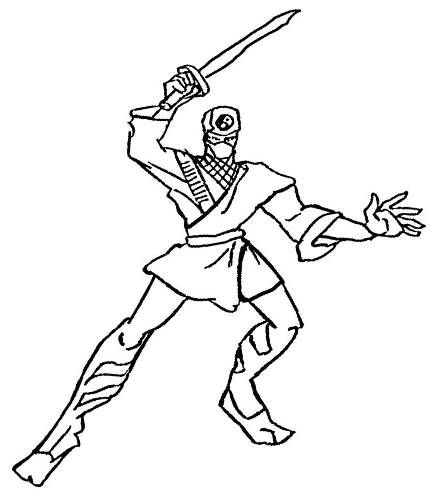 раскраски на тему ниндзя для детей. Раскраски с восточными бойцами для мальчиков и девочек. Восточные единоборства, ниндзя. Раскраски для мальчиков