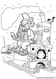 раскраски для детей с народными сказками раскраски для ...