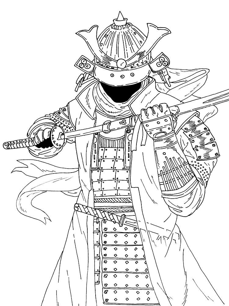 Раскраски детские онлайн бесплатно. Раскраски для детей с самураями. Раскраски для детей скачать. Бесплатные детские раскраски. Скачать бесплатные раскраски для мальчиков.