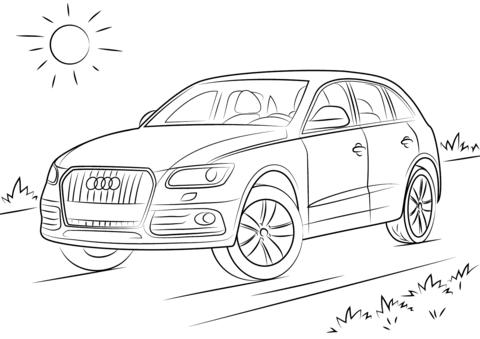 раскраски с машиной Audi для детей      раскраски на тему машины Audio  для детей.  раскраски с машинами Audio  для мальчиков и девочек. Раскраски с машинами
