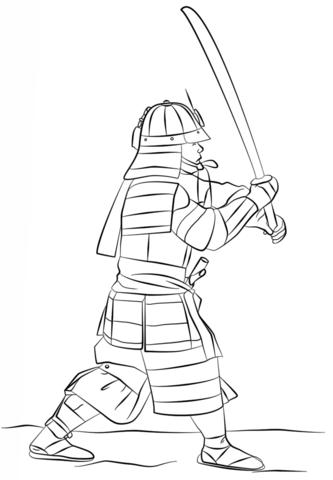 раскраски на тему самураи для детей. Интересные раскраски с самураями для мальчиков и девочек. Раскраски с самураями для детей