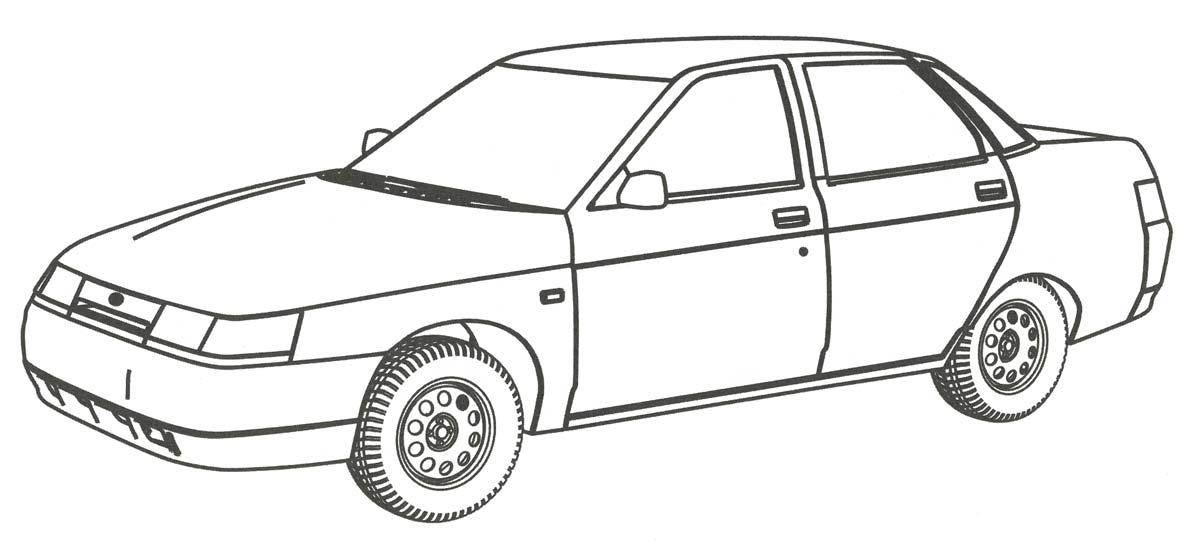 раскраски с втомобилем ВАЗ для детей     раскраски на тему автомобиль ВАЗ для детей. Познавательные раскраски с автомобилем ВАЗ для мальчмков и девочек. Раскраски с машинами