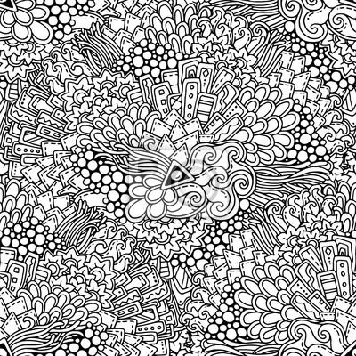 раскраски абстракции