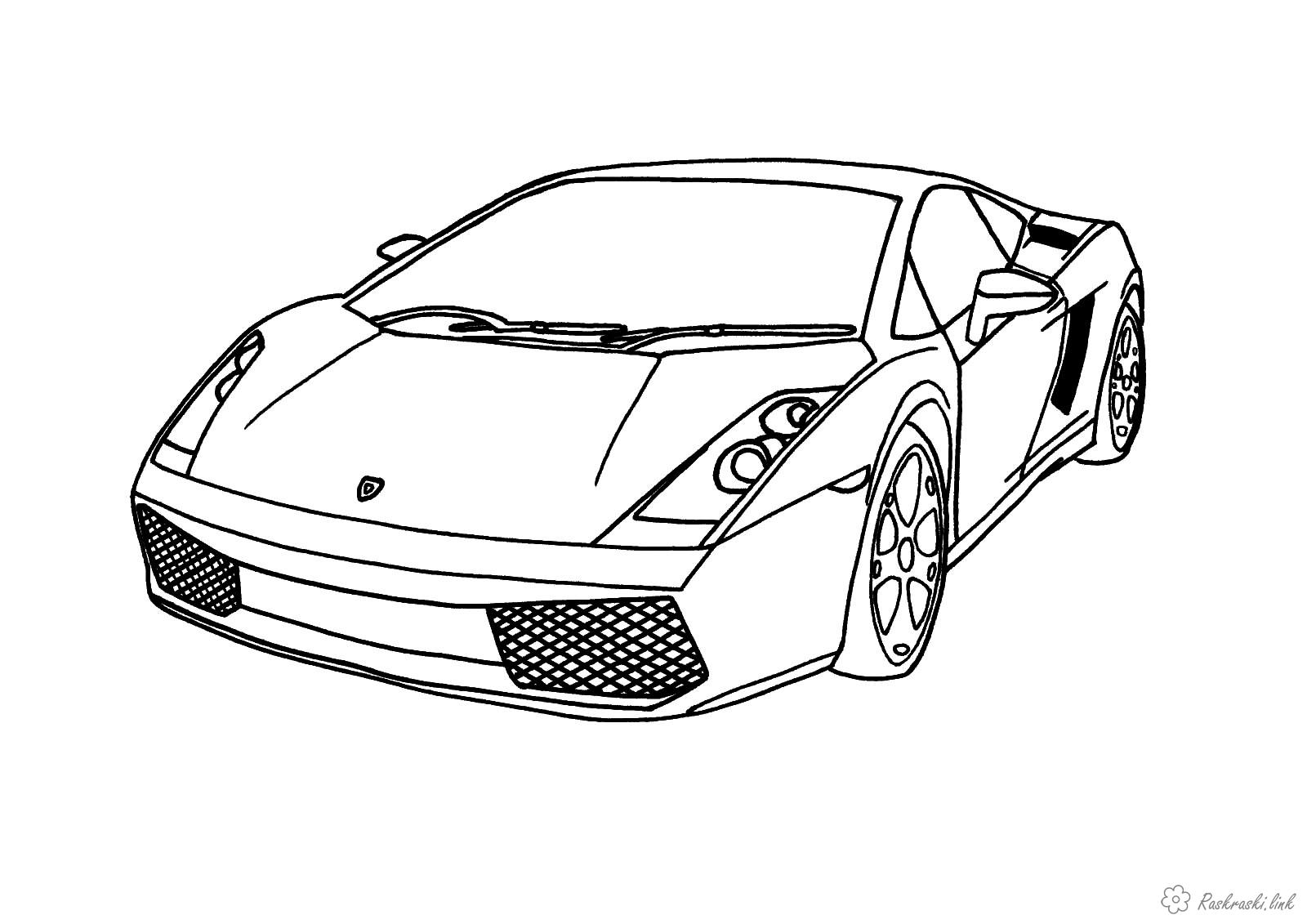 раскраски со спортивными машинами для детей   раскраски на тему спортивные машины для детей.  раскраски со спортивными машинами для мальчиков и девочек