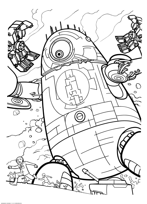 раскраски на тему роботы для детей          раскраски на тему роботы для детей. раскраски с роботами.  раскраски на тему роботы для мальчиков.