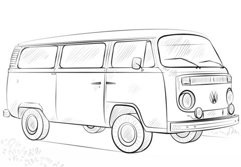 раскраски с машинами Volkswagen           раскраски на тему машины  Volkswagen  для детей.  раскраски с машинами Volkswagen  для мальчиков и девочек
