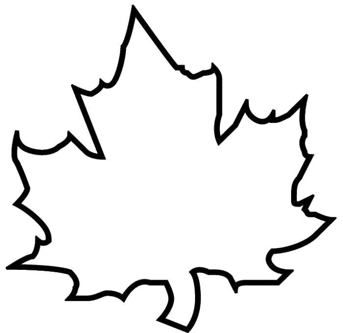 Раскраски контуры листья Раскраски контуры листьев, листочки контуры, контуры листики для вырезания