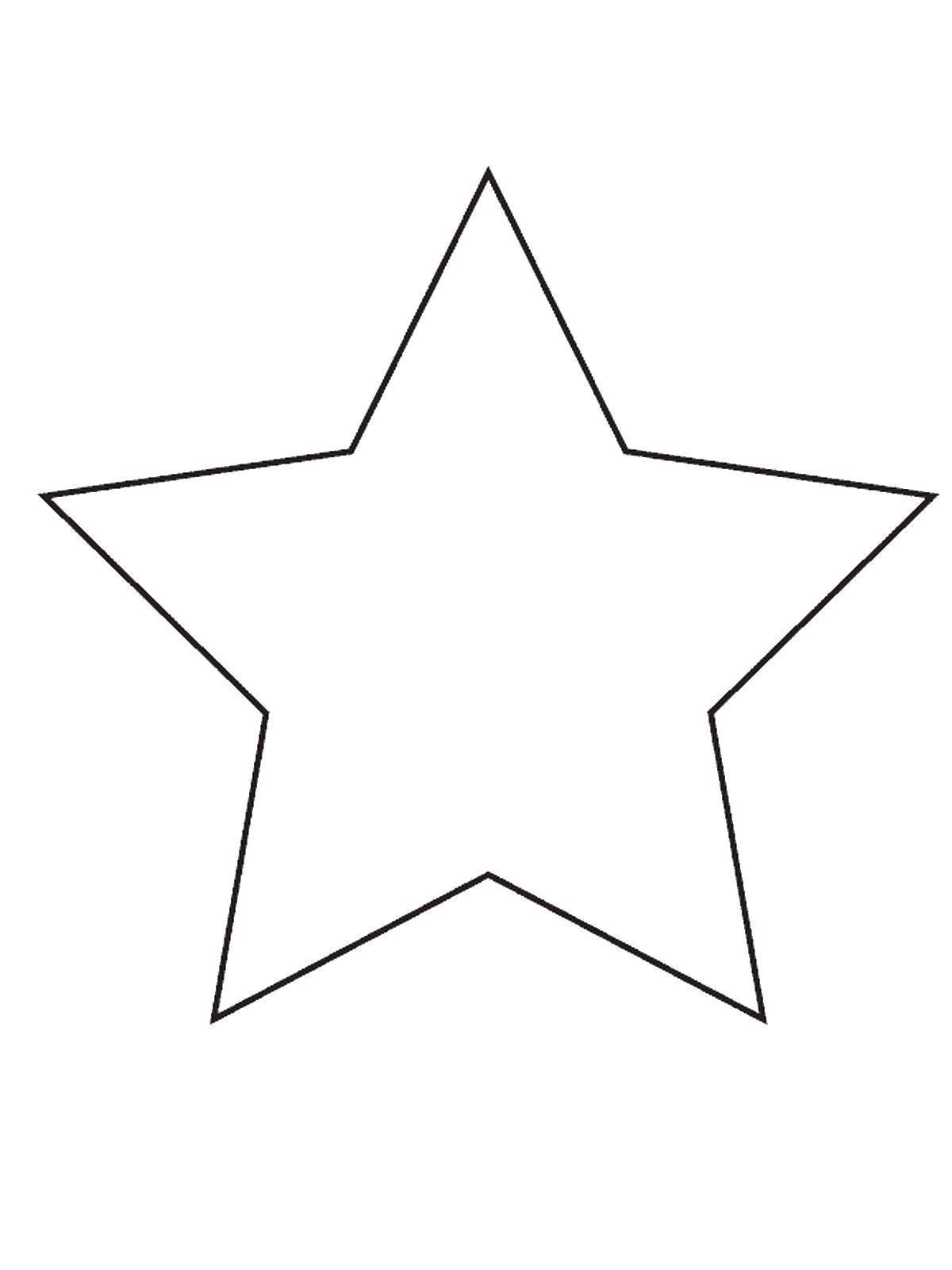Раскраски Контуры звезда Раскраски Контуры звезда, звезды, звездочки для малышей