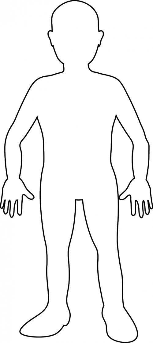 Раскраски Контуры мальчик Раскраски Контуры мальчики для вырезания из бумаги