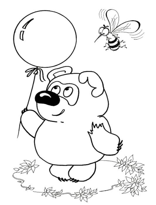 раскраски советские мультфильмы