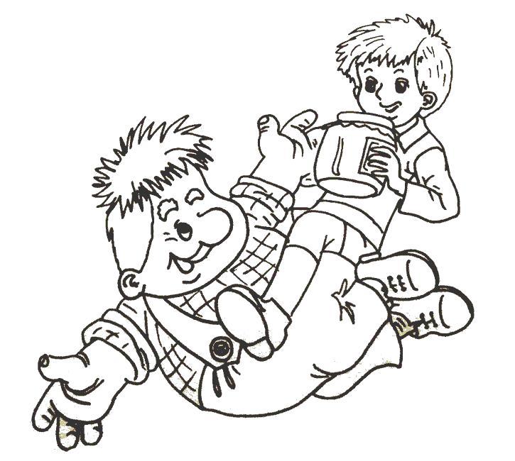 Раскраски Карлсон Раскраски Карлсон, раскраски из советских мультфильмов для малышей