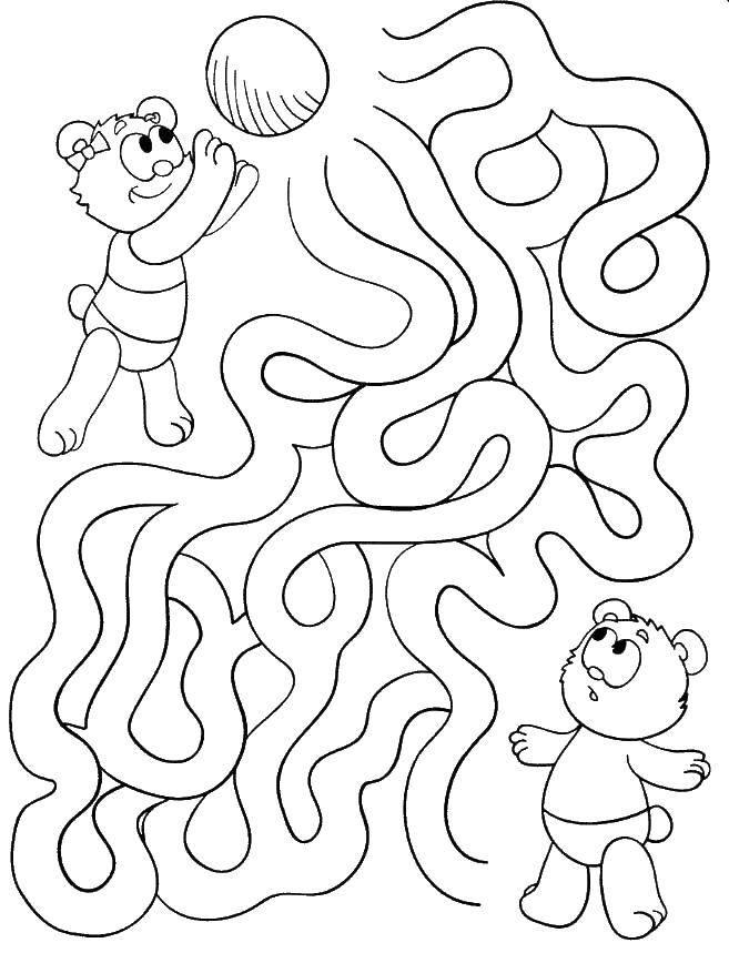 Лабиринты Раскраски игры лабиринты и цветные лабиринты для детей, простые лабиринты для малышей и сложные лабиринты для школьников