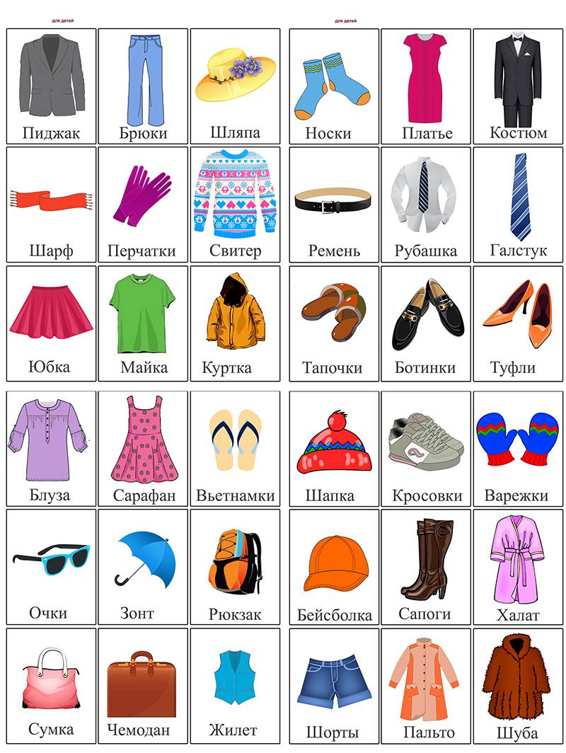 Карточки одежда Карточки одежда для детей. Карточки одежда для старших групп детского сада. Карточки домана одежда