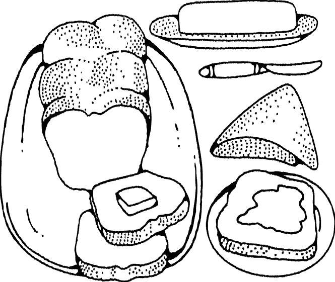 Раскраски Еда Раскраски Еда, продукты. Раскраски для занятий с детьми
