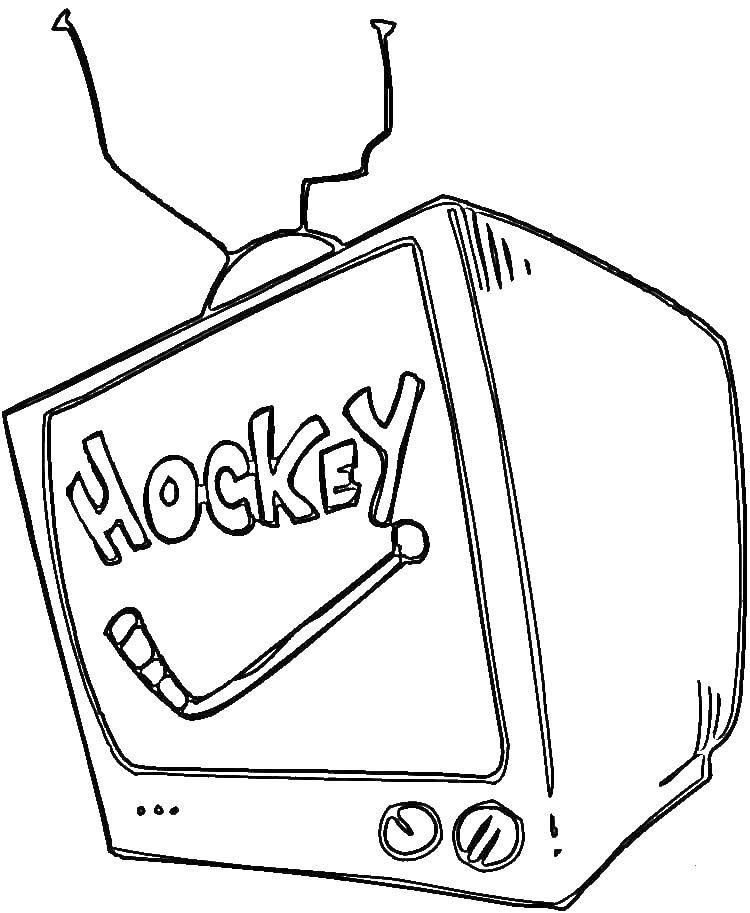 Раскраски Бытовая техника Раскраски Бытовая техника для детей, раскраски телевизор, холодильник, магнитофон, компьютер и т.д